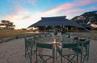 Camp Hwange - camp fire (WETU)