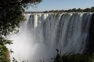Victoria Falls High Water (Pixabay)
